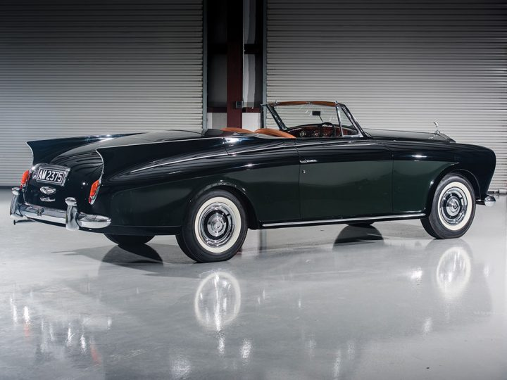 Rolls-Royce Silver Cloud I Drophead Coupe -1958