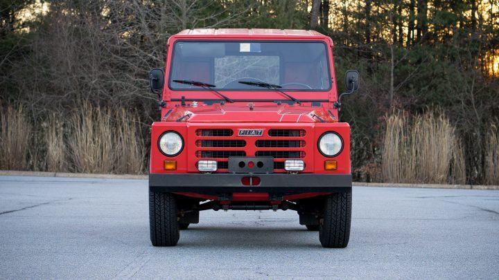 Fiat Campagnola 4x4 Convertible 1107A - 1985