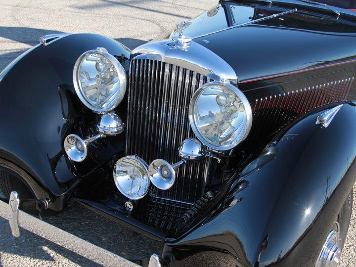 Bentley 3½ Litre Sedanca Coupe - 1936