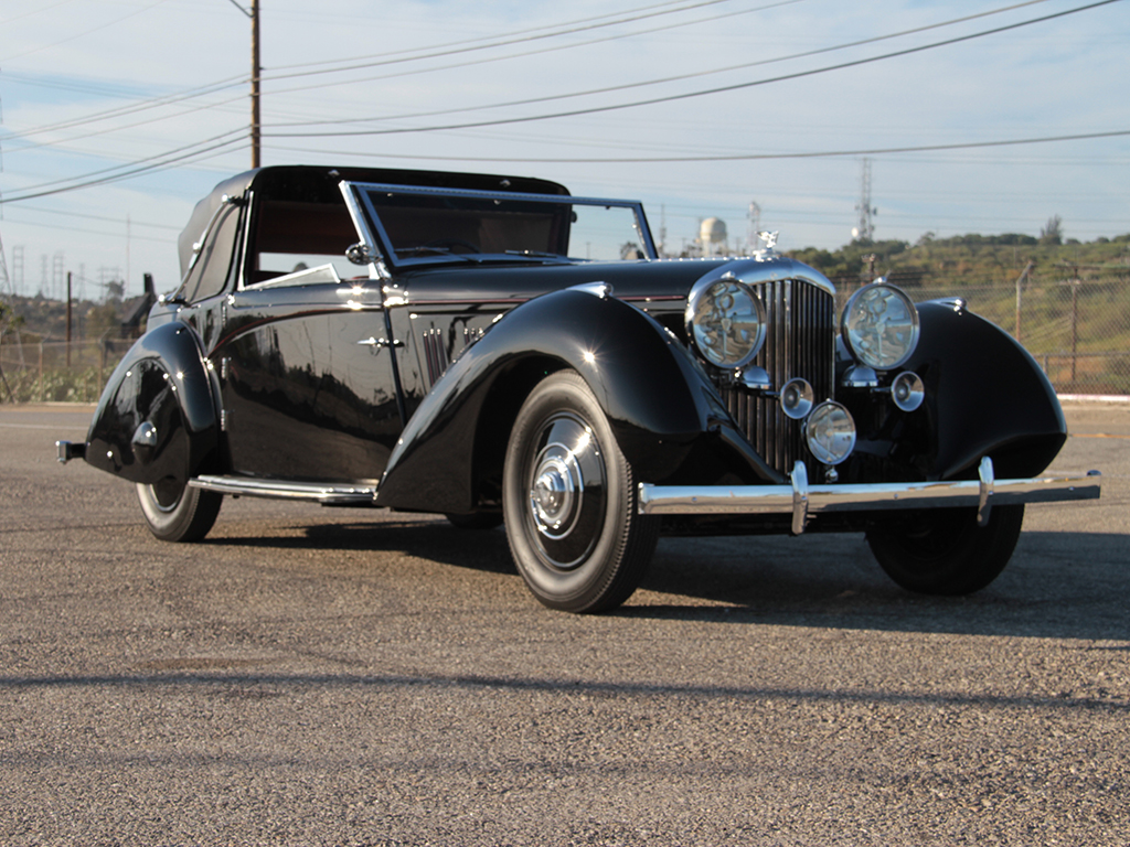 Bentley 3½ Litre Sedanca Coupe – 1936