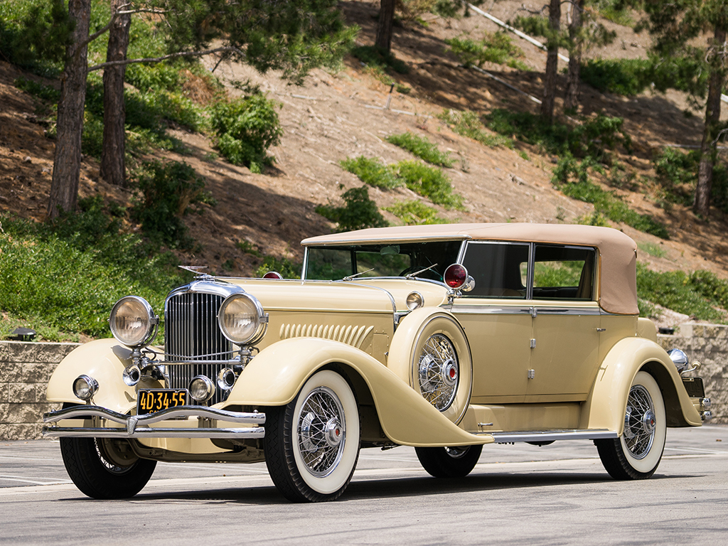 Duesenberg Model J Convertible Berline - 1929