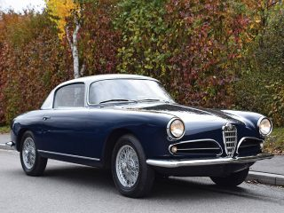 Alfa Romeo 1900C Coupé by Touring – 1956