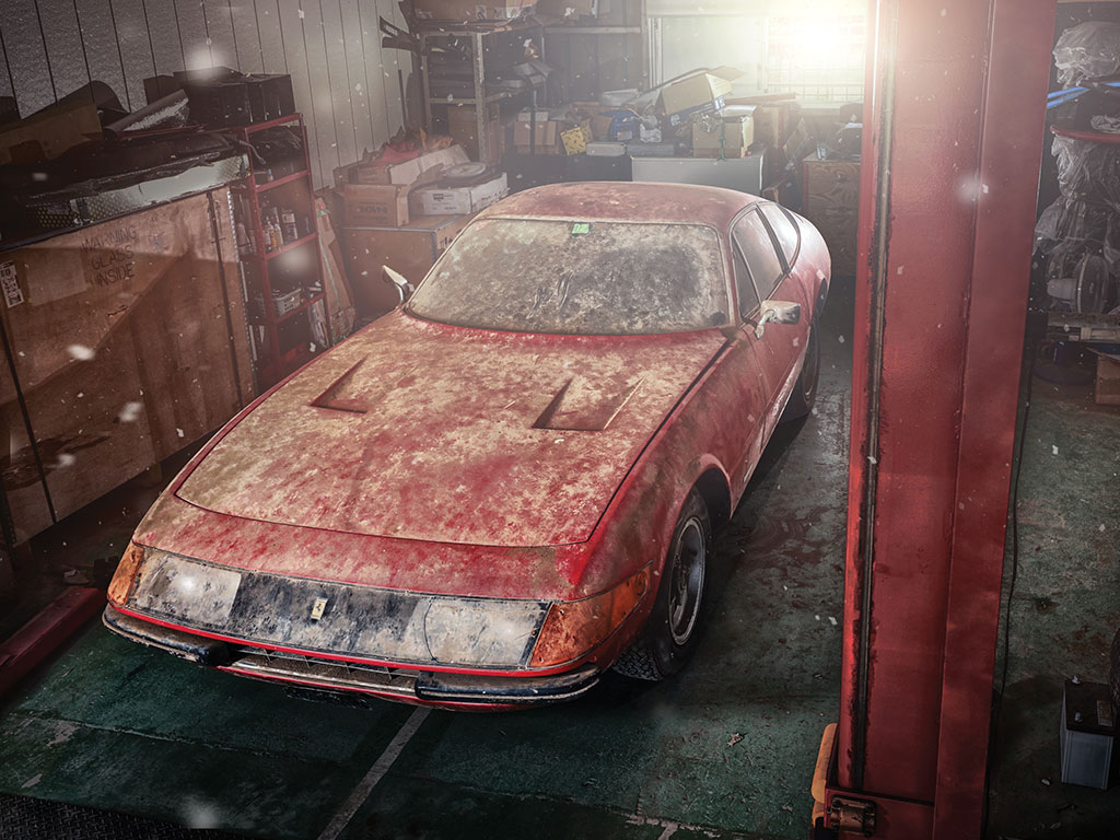 Ferrari 365 GTB/4 Daytona Berlinetta Alluminio – 1969