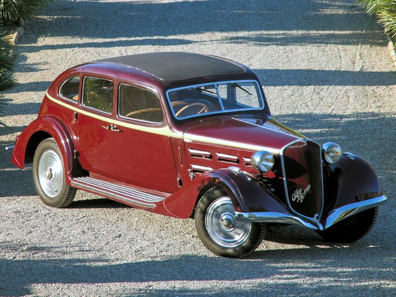 """Alfa Romeo 6C 2300 Turismo """"Soffio di Satana"""" – 1935"""