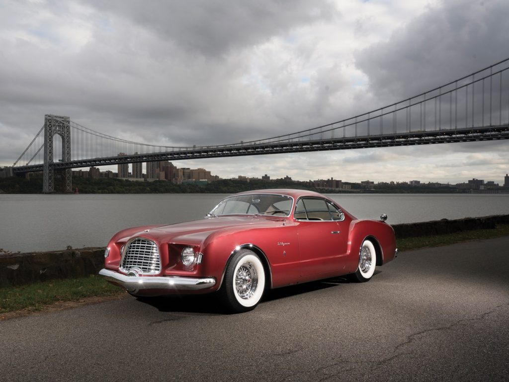 Chrysler D'Elegance by Ghia - 1952