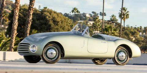 Fiat 1100 Spider by Carrozzeria Frua – 1946
