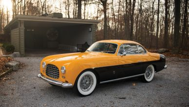 Ferrari 212 Inter Coupe by Ghia - 1952