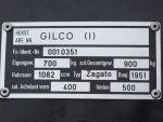 Fiat-Gilco 1100 Zagato - 1949