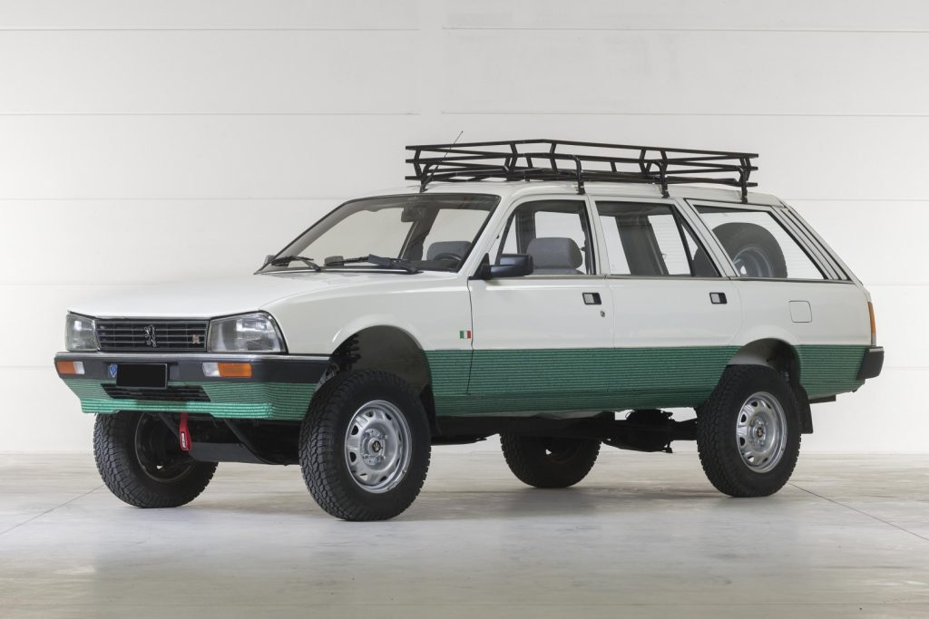 Peugeot 505 GL Break 4x4 Dangel - 1985