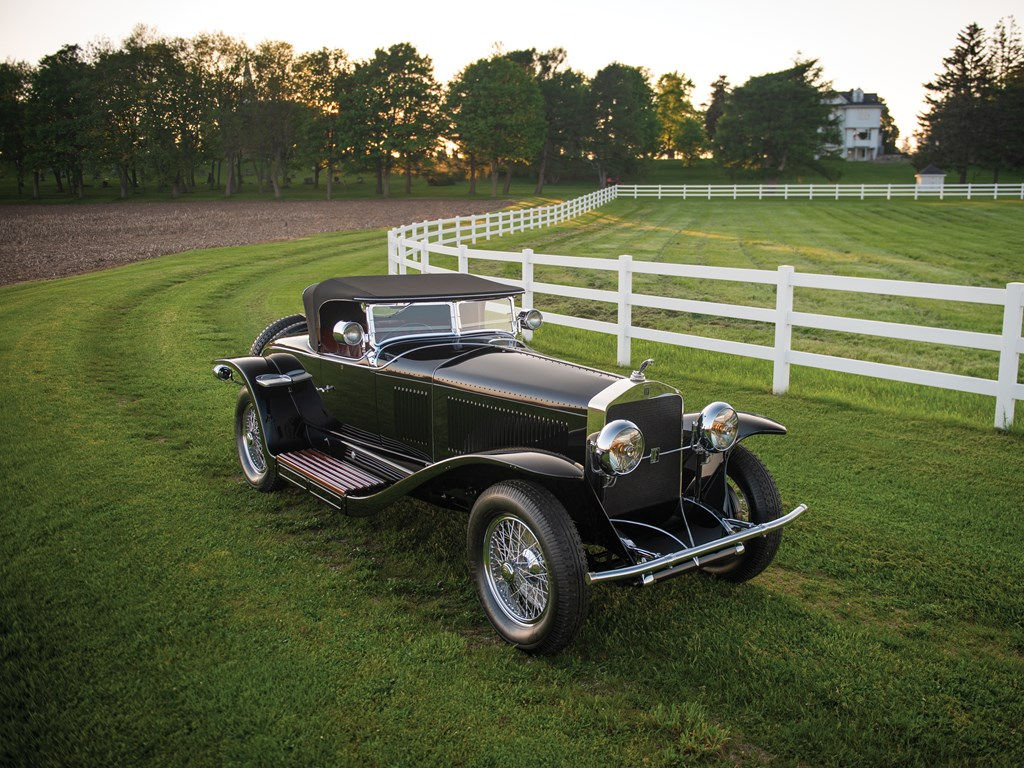 Isotta Fraschini Tipo 8AS Roadster by Fleetwood - 1927