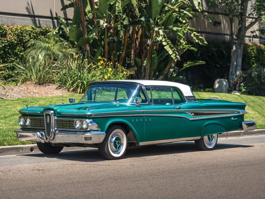Edsel Corsair Skycruiser Retractable Hardtop - 1959