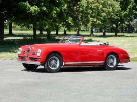 Alfa Romeo 6C 2500 Super Sport Cabriolet – 1949