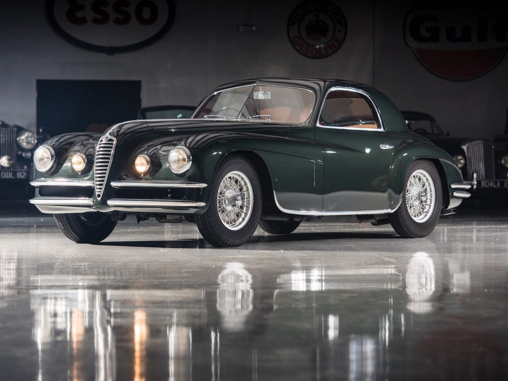 Alfa Romeo 6C 2500 Super Sport Coupe by Touring - 1950