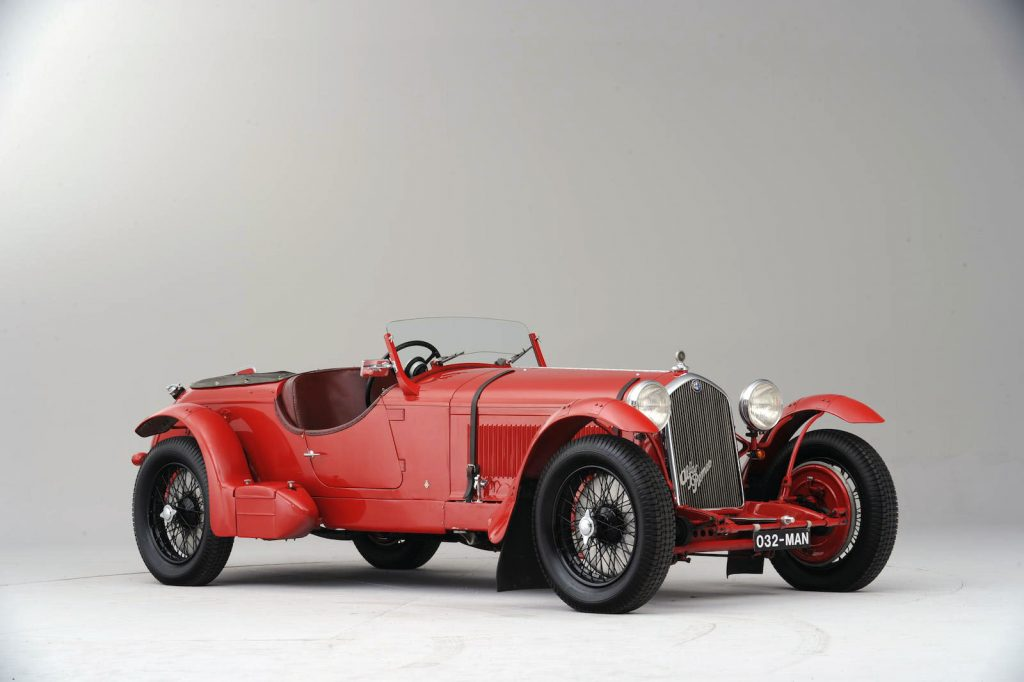 Alfa Romeo 8C 2300 Spyder Lungo - 1932