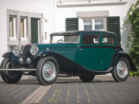 Bugatti T46 Petit Royale Sports Saloon by Freestone & Webb – 1930