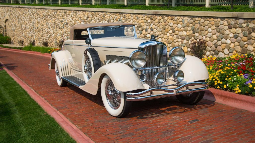 Duesenberg Model J Convertible Coupe Disappearing Top Roadster - 1933