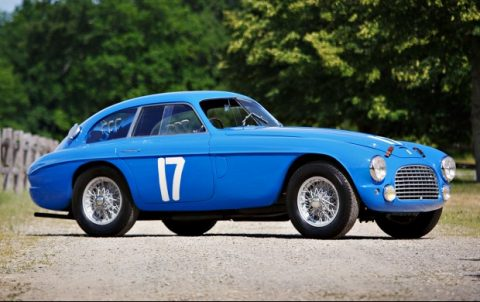 Ferrari 166 MM/195 S Berlinetta Le Mans – 1950