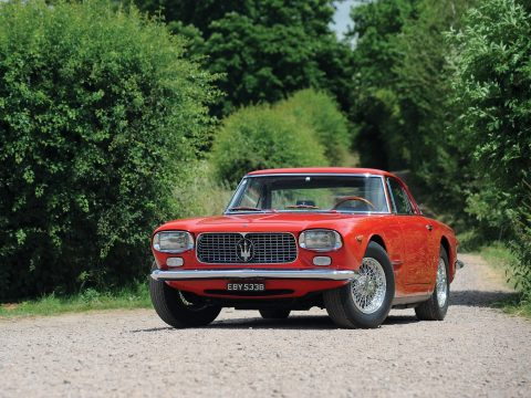 Maserati 5000 GT Coupe by Allemano – 1962