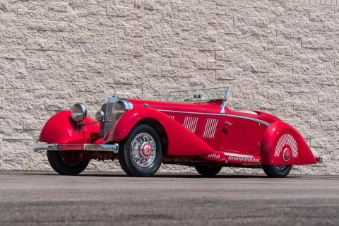 Mercedes-Benz 540K Sports Roadster – 1937