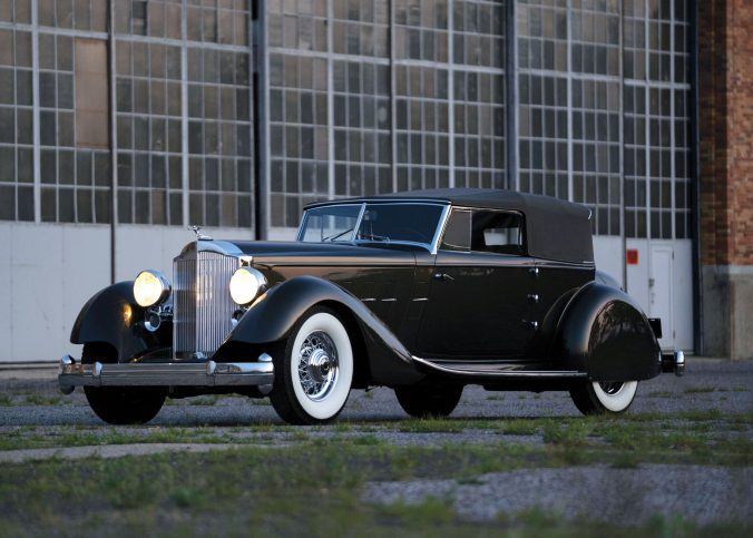 Packard Twelve Individual Custom Convertible Victoria - 1934