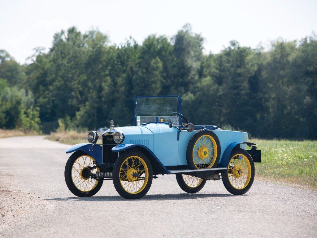 Peugeot Quadrillette type 161 - 1921