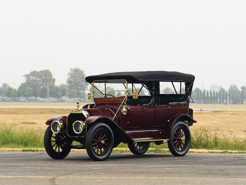 Pierce-Arrow Model 48-SS Seven-Passenger Touring - 1912
