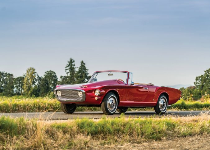 Plymouth Asimmetrica Roadster by Ghia - 1961