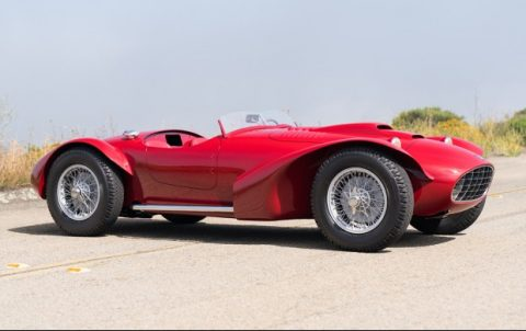 Siata 208 CS Corsa Spider – 1952