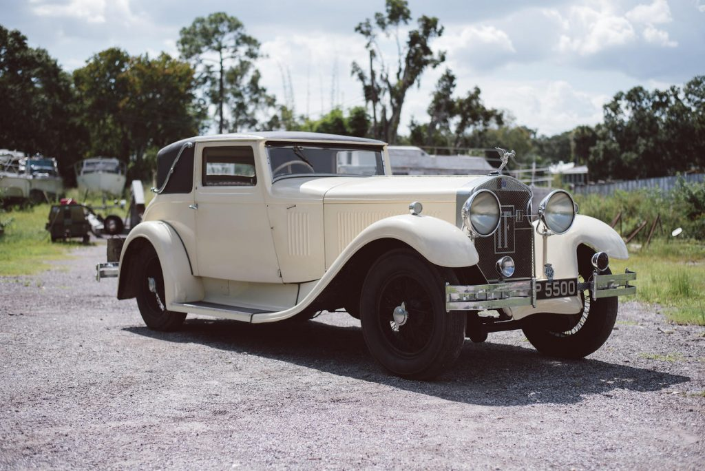 Isotta Fraschini Tipo 8A Two-Door Sports Coupe - 1931
