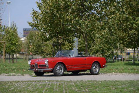 Alfa Romeo 2000 Spider – 1960