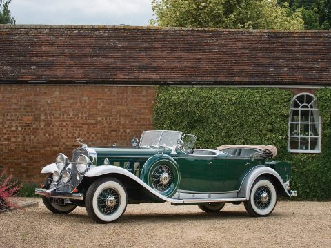 Cadillac V-16 Sport Phaeton by Fleetwood – 1931