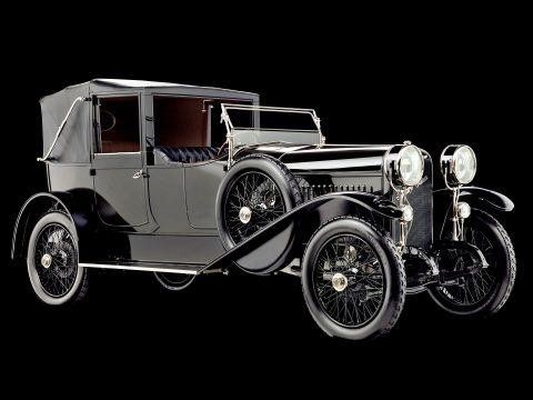 Hispano-Suiza Type 32 Collapsible Brougham – 1916