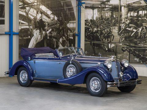 Horch 853 Cabriolet by Gläser – 1938