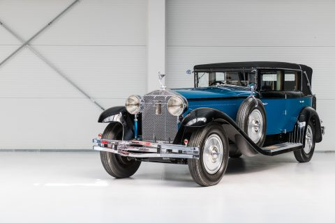 Isotta-Fraschini Tipo 8A Landaulette by Castagna – 1929
