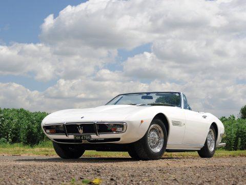 Maserati Ghibli SS 4.9 Spyder – 1972