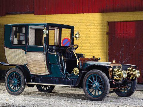 Panhard & Levassor Type X1 Coupé Chauffeur – 1908