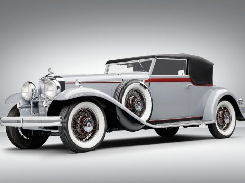 Stutz DV32 Convertible Victoria by Rollston – 1931