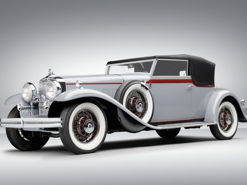 Stutz DV32 Convertible Victoria by Rollston - 1931