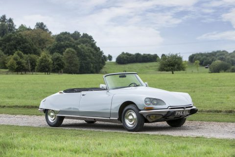 Citroen DS 23 IE cabriolet by Henri Chapron – 1973