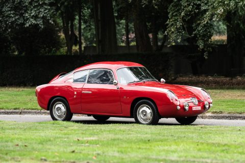 Fiat Abarth 750 GT Zagato 'Double Bubble' – 1957