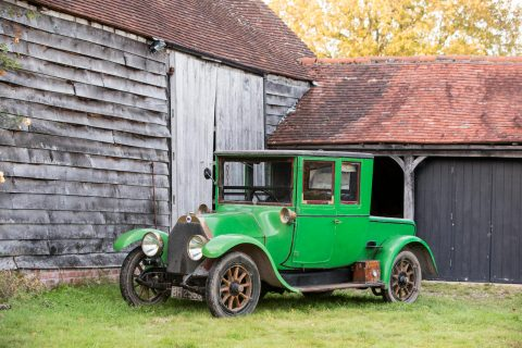 Lancia Theta coupè – 1913