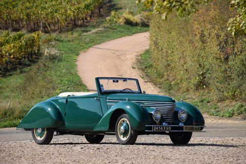 Citroen Traction Avant 11BL Cabriolet by Clabot – 1939