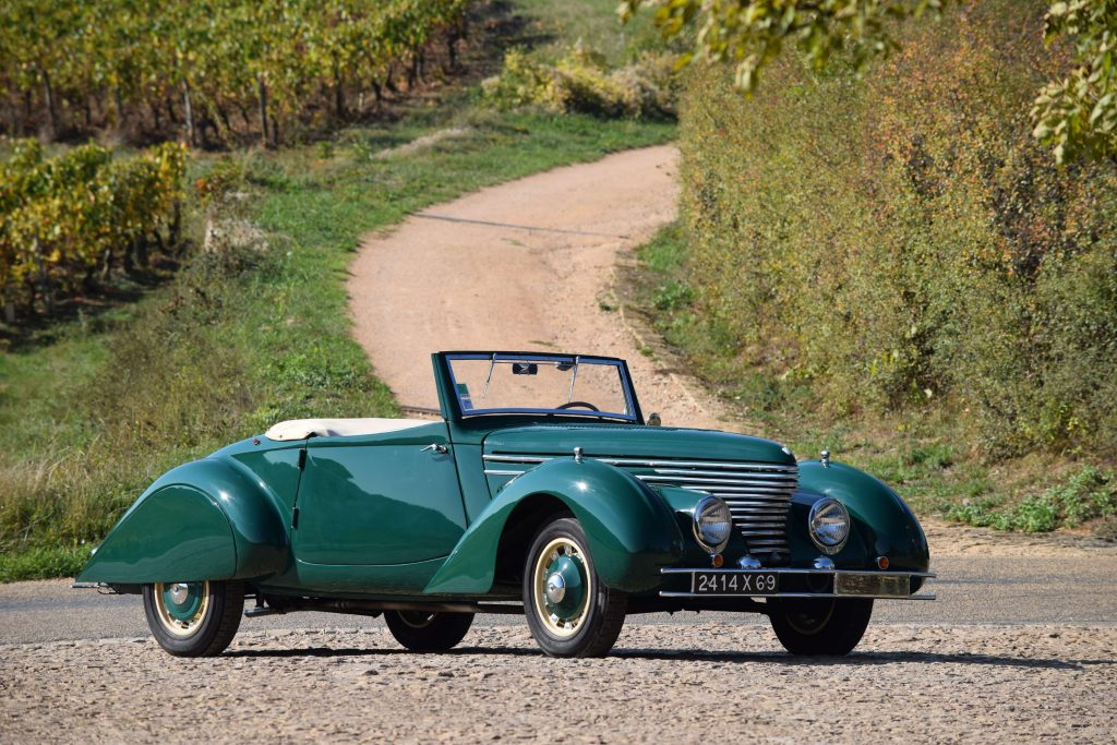 Citroen Traction Avant 11BL Cabriolet by Clabot - 1939