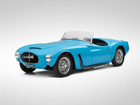 Moretti 1200 Sport Spider by Michelotti – 1955