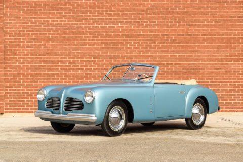 Fiat 1100 Cabriolet by Stabilimenti Farina – 1950