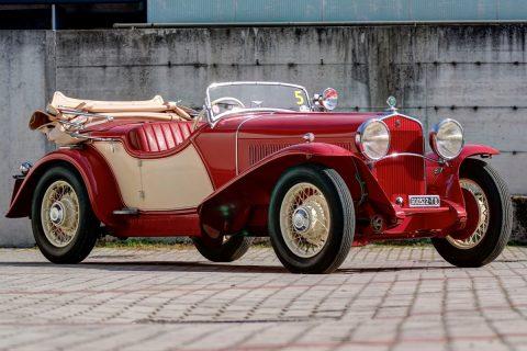 Fiat 522 C Torpedo Sport by Viotti  – 1931