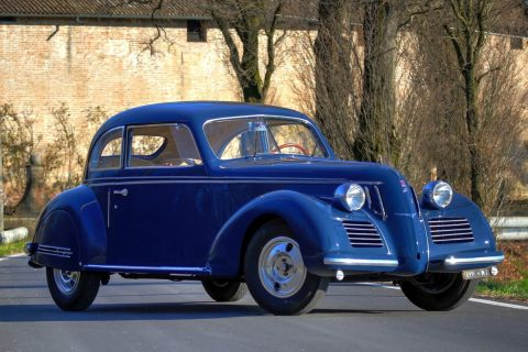 Fiat 1500 6C Berlinetta Superleggera – 1939