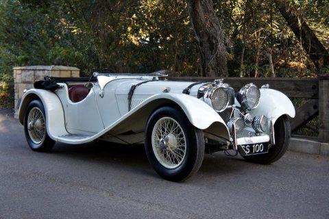 SS 100 Jaguar 2½ Litre Roadster – 1937
