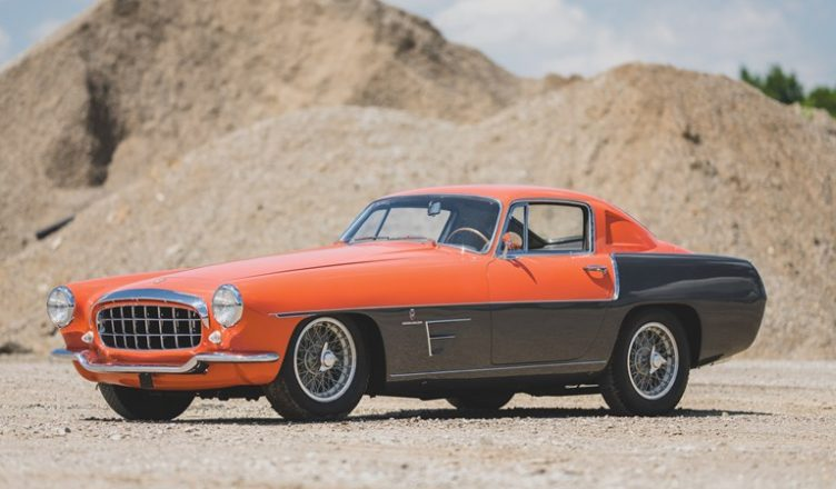 Ferrari 375 MM Coupe Speciale by Ghia - 1955