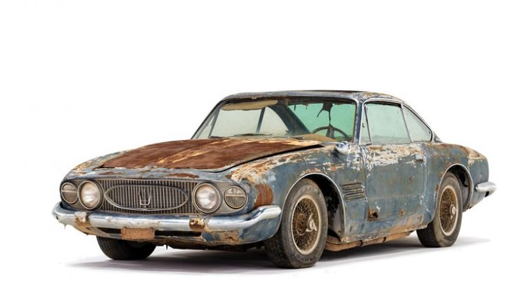 Maserati 5000 GT Coupe by Ghia - 1961